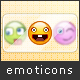 Pixel Emoticons - GraphicRiver Item for Sale