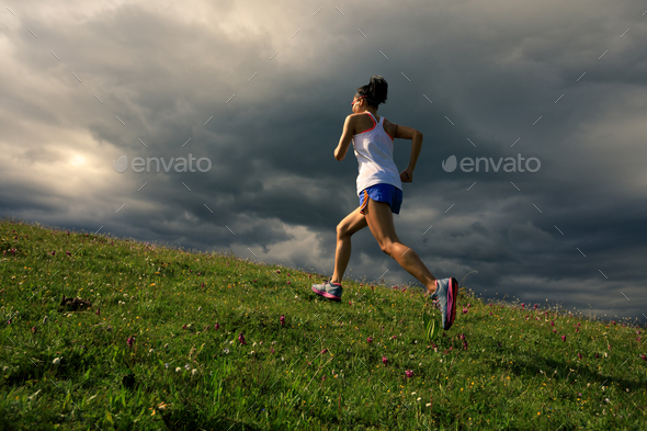 Running away  - Stock Photo - Images
