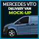 Mercedes Vito Delivery Van Mock-Up