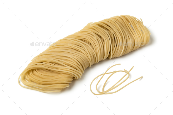 Long shaped raw vermicelli - Stock Photo - Images