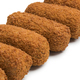 Row of deep fried Dutch kroketten - PhotoDune Item for Sale