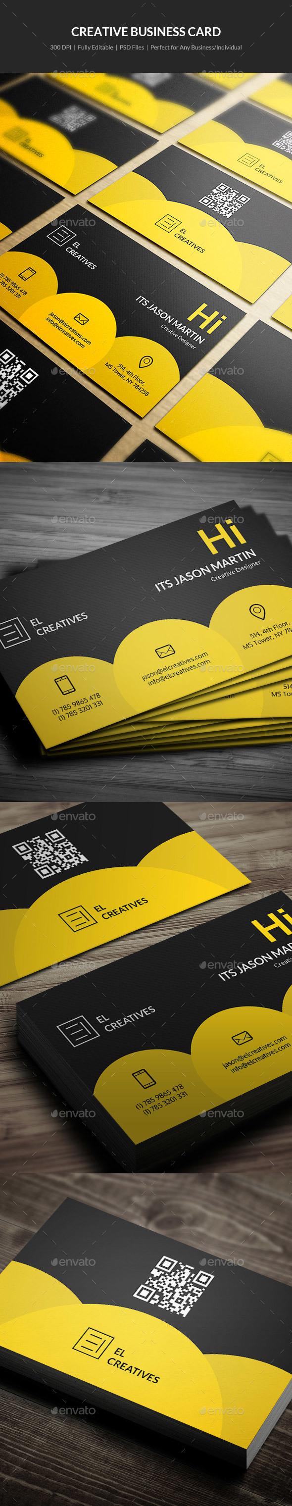 Creative Business Card - 01 - Creative Business Cards