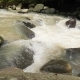 Small Waterfall at Mountain River in the Rain Forest Tropical Jungle - VideoHive Item for Sale