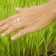 Young Asian Woman Touching Green Grass with Hand in Rice Fields Bali, Indonesia - VideoHive Item for Sale