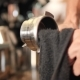 Barista Cleaning Holder From Professional Coffee Machine in Coffeeshop Before Making Cappuccino - VideoHive Item for Sale