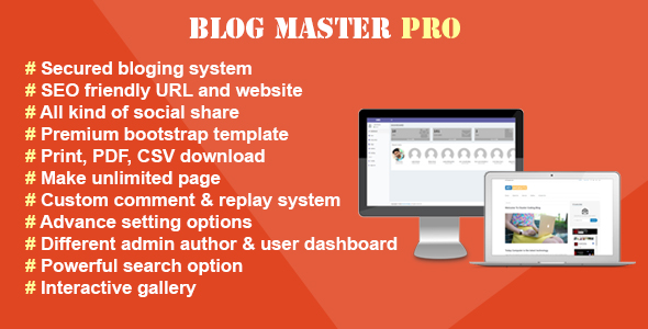 Blog Master Pro - CodeCanyon Item for Sale
