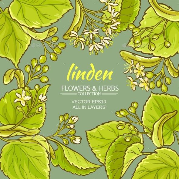 Linden Vector Frame - Health/Medicine Conceptual