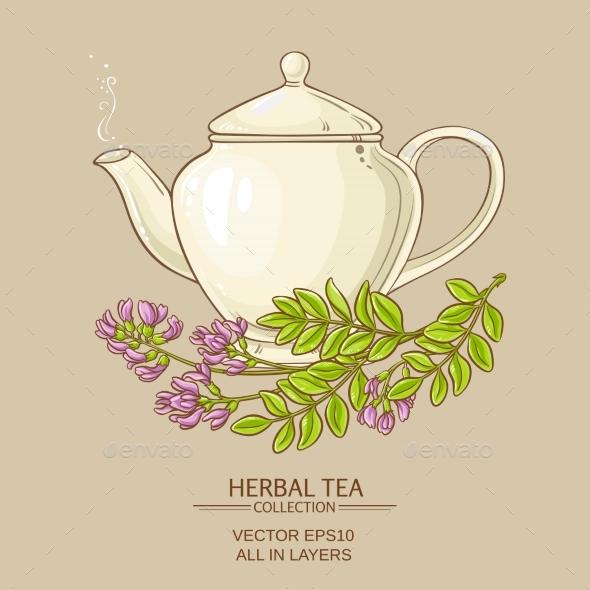 Astragalus Tea Illustration - Health/Medicine Conceptual