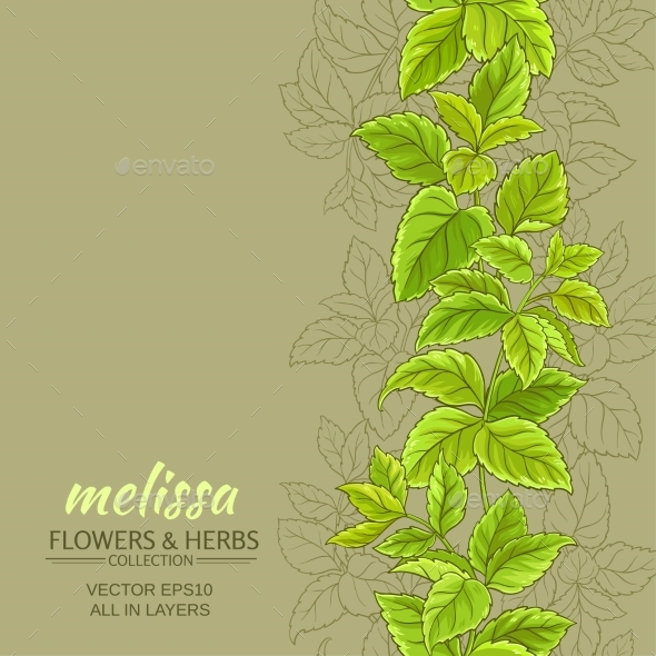 Melissa Vector Background - Food Objects