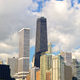 Chicago urban skyline - PhotoDune Item for Sale