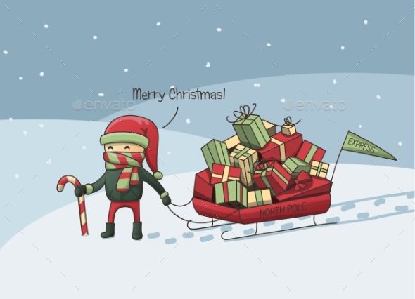 Christmas Elf - Miscellaneous Vectors