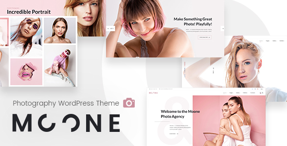 Image of Moone - Photography Portfolio WordPress Theme