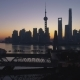 Panoramic Shanghai Skyline at Dawn - VideoHive Item for Sale