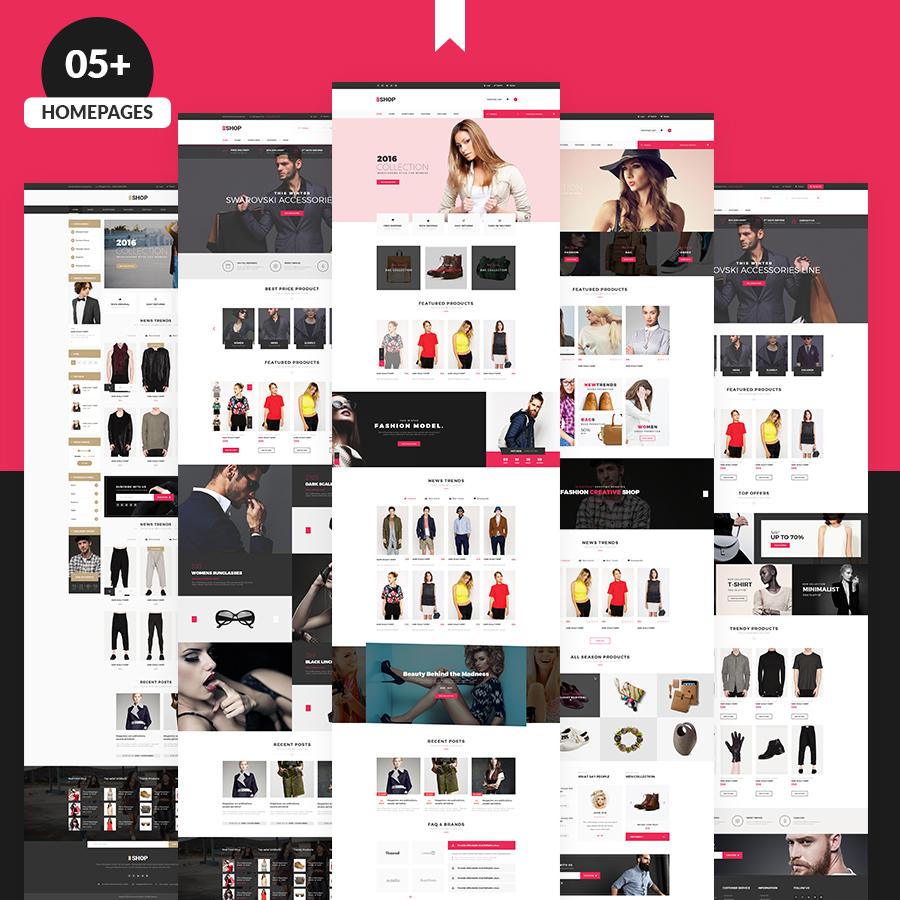 The Shop | Multipurpose e-commerce HTML Template - 1