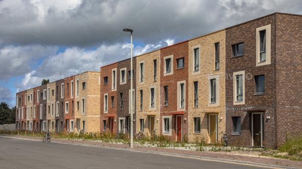 Modern Social housing - Stock Photo - Images