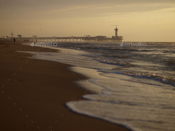 Scheveningen pier - Stock Photo - Images