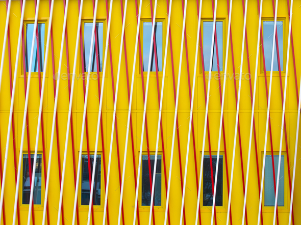 Abstract modern facade - Stock Photo - Images