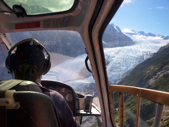 helicopter pilot - Stock Photo - Images