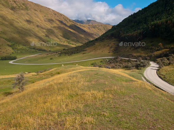 Winding road - Stock Photo - Images