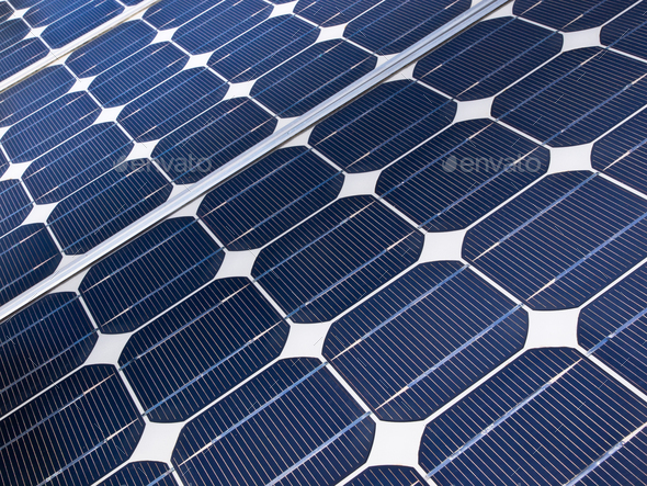 Solar cell detail - Stock Photo - Images