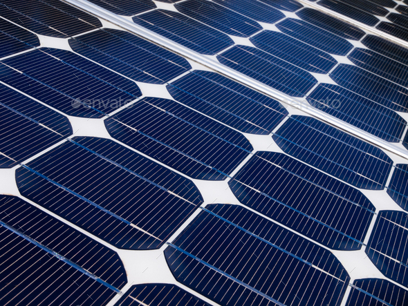 Solar panel is generating electricity - Stock Photo - Images