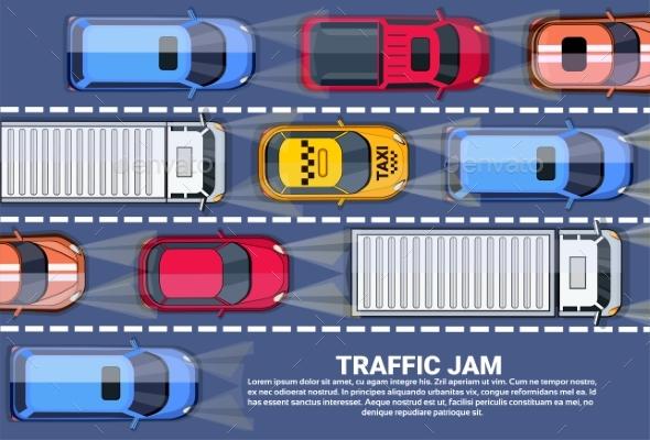 Traffic Jam - Miscellaneous Vectors