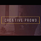 Creative Promo - VideoHive Item for Sale