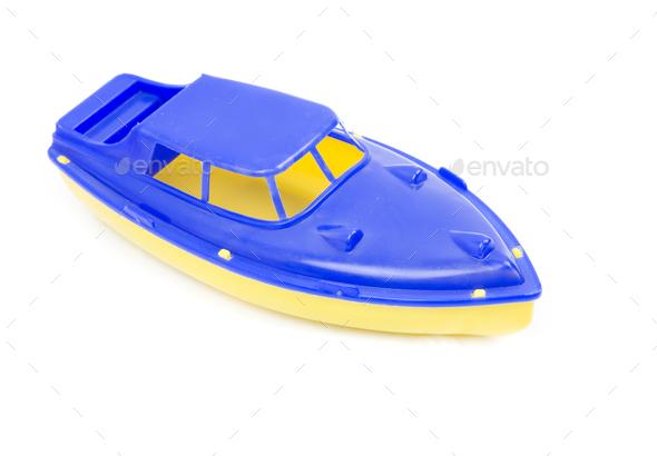 toy speedboat - Stock Photo - Images