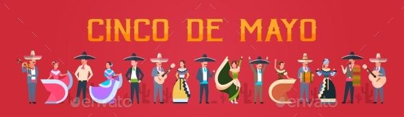 Cinco De Mayo Festival Poster - Miscellaneous Seasons/Holidays