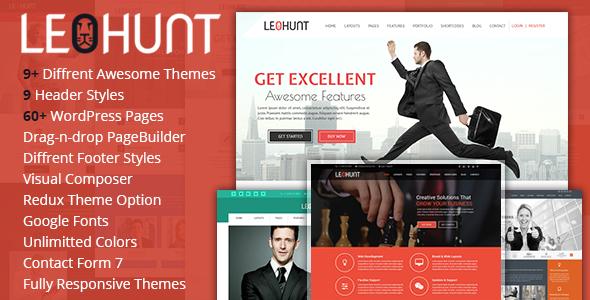 LeoHunt - Responsive Multi-Purpose WordPress Theme