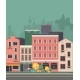Cityscape City Street - GraphicRiver Item for Sale