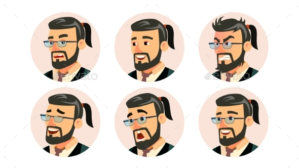 Boss CEO Character Business People Avatar Vector - People Characters