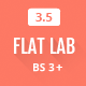 FlatLab - Responsive Bootstrap Admin Template - ThemeForest Item for Sale