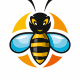 Bee Travel Logo