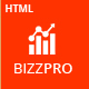 Bizzpro- Multipages HTML Business Template - ThemeForest Item for Sale