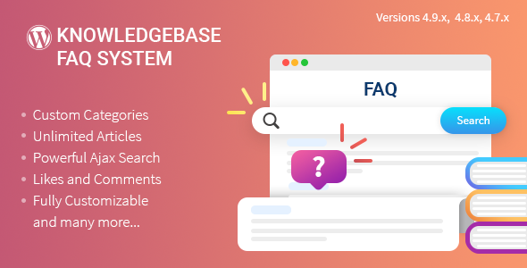 Knowledgebase/FAQ Plugin for WordPress - CodeCanyon Item for Sale