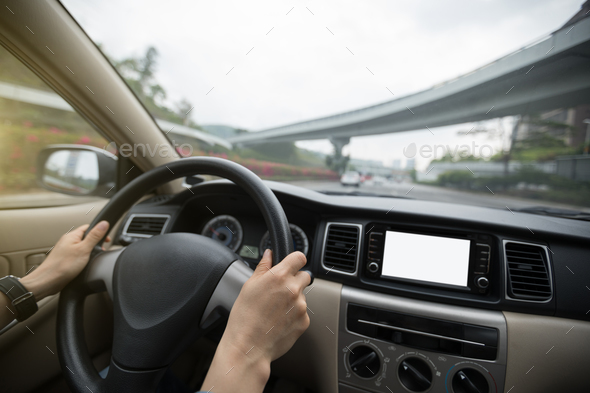 Driving - Stock Photo - Images