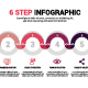 6 Step Infographic - GraphicRiver Item for Sale