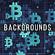 Bitcoins Backgrounds - GraphicRiver Item for Sale