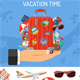 Vacation and Tourism Banner - GraphicRiver Item for Sale