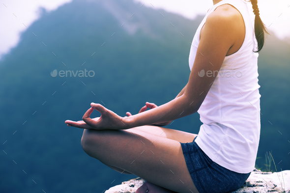 Yoga woman - Stock Photo - Images