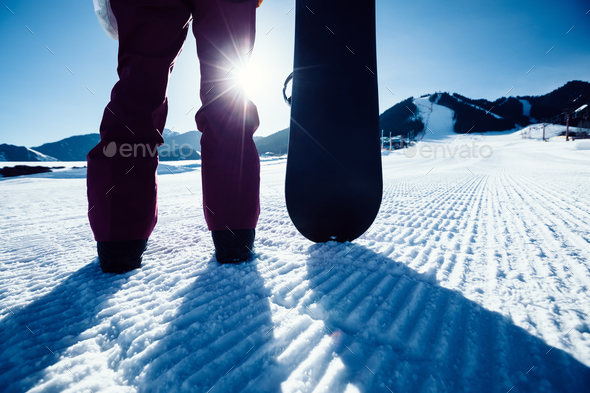 Snowboarding  - Stock Photo - Images