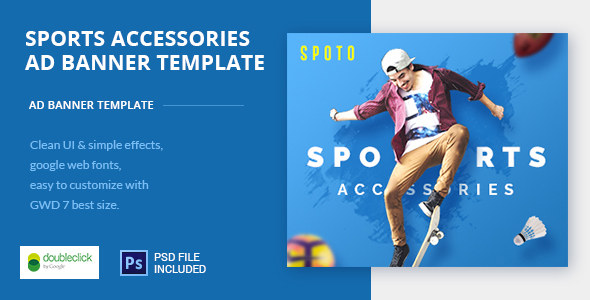 Multi Sports HTML AD Banner 01 - CodeCanyon Item for Sale