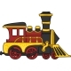 Cartoon Toy Train - GraphicRiver Item for Sale