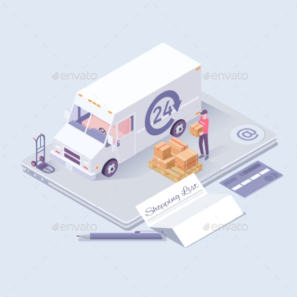 Fast Delivery Concept - Services Commercial / Shopping