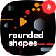 Dynamic Motion Rounded Shapes Backgrounds - GraphicRiver Item for Sale