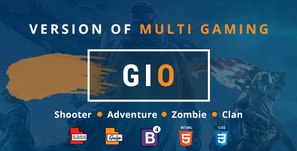 GIO-Community Portal Gaming Template
