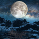 Mountains Starry Night - VideoHive Item for Sale