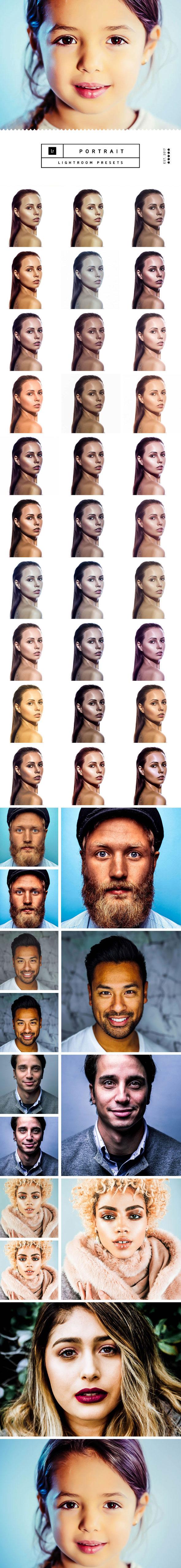 Portrait Lightroom Presets - Lightroom Presets Add-ons