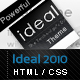 Ideal 2010 - With Powerful Features - ThemeForest Item for Sale